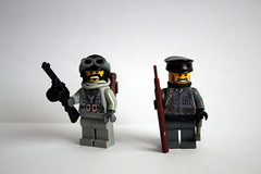 Eastern Front Figs and Decals (Eturior) Tags: italian lego decal russian eastern garand ppsh brickarms eturior