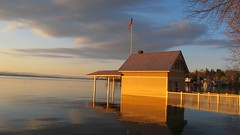 Soggy boathouse