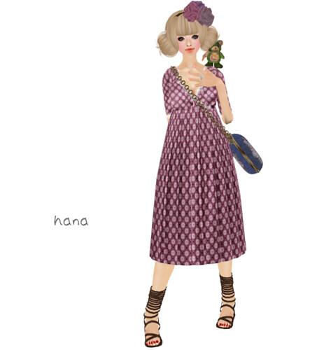 ::C'est la vie !:: kimono dress(LB)