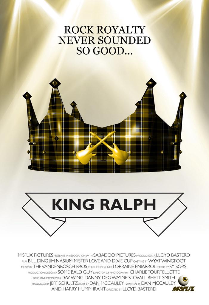 Misflix King Ralph Poster