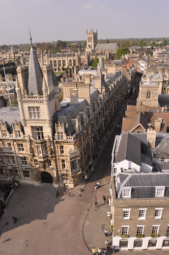 Above Cambridge