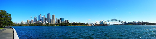 City, Opera House and Bridge Pano