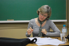 Prof. Regina (thomazcia) Tags: faculdade saladeaula unisal