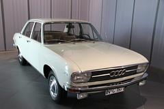 Audi 100 (pilot_micha) Tags: auto car museum germany bayern deutschland bavaria oberbayern oldtimer deu ingolstadt audi100 audiforum museummobile baujahr1969 11042011