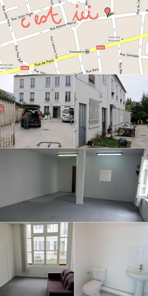 Nouvel atelier Molusk à Montreuil