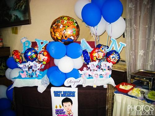 Ryan Iszkandar 1yo Birthday Party