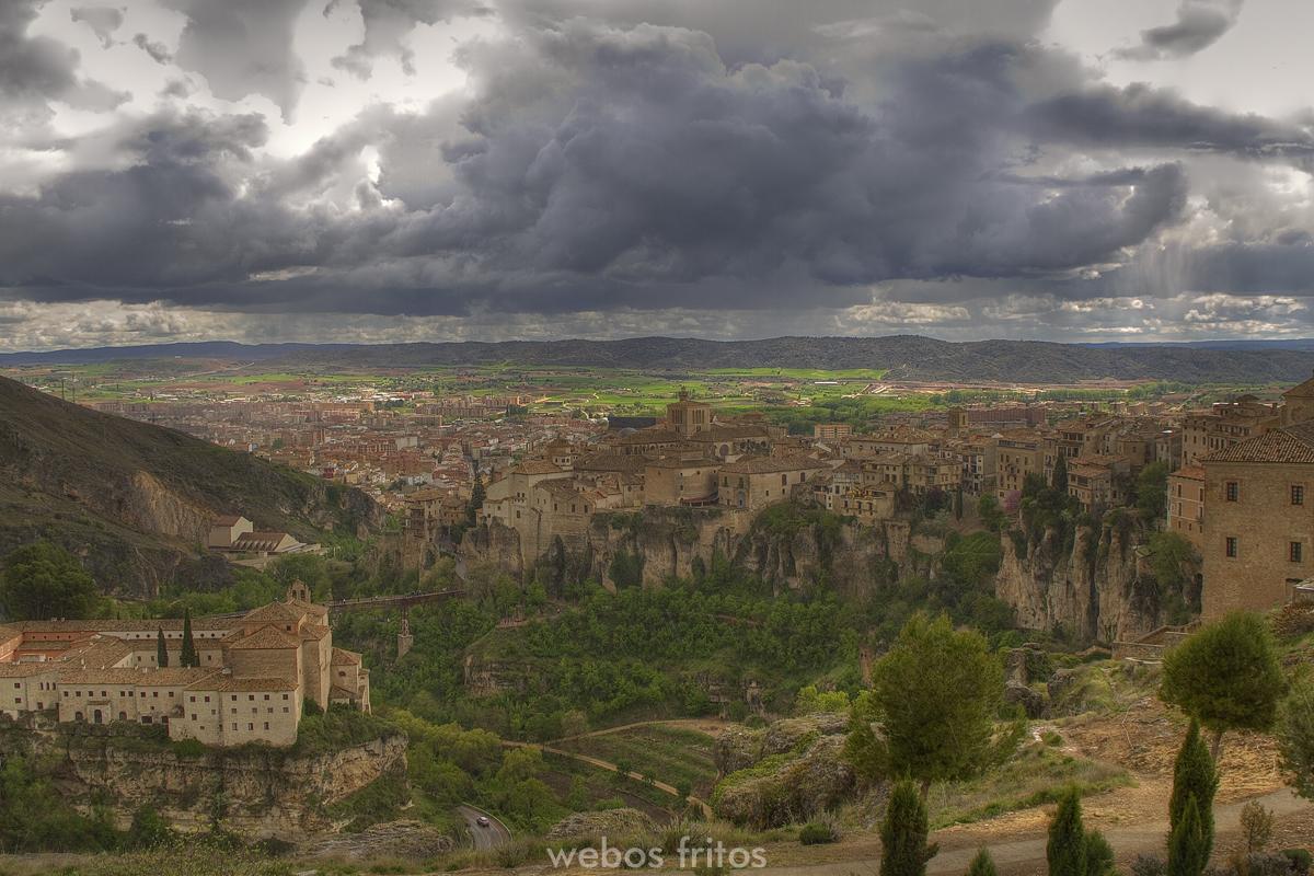 Tormenta sobre Cuenca