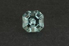 Untreated Aqua Asscher (Peter Torraca) Tags: blue green square aqua aquamarine gem beryl gemstone asscher torraca