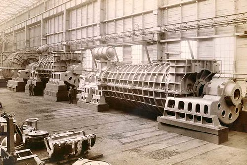 Mauretania - Turbine Machinery