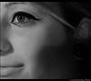 (Lù *) Tags: portrait white black eye face eyes makeup bn autoritratto bianco ritratto nero occhio