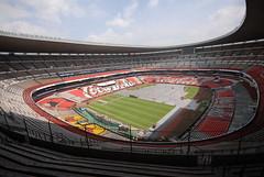Segundo día de montaje - Estadio Azteca 16