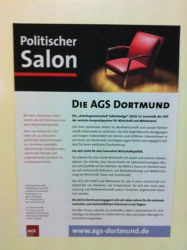 Politischer Salon der AGS Dortmund