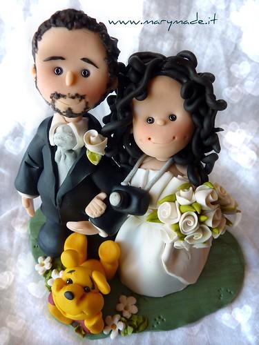 Elisa ed il suo lui - Cake Topper per Matrimonio - MaryMade.it