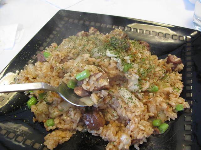 沙朗牛肉炒飯