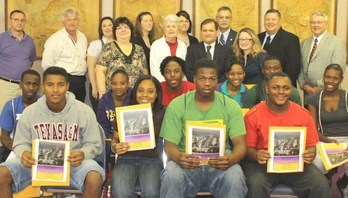 Enterprise Bank, USDA, Calvert ISD and the senior class created a partnership that will have a positive impact on the student's lives and the future of Calvert ISD. The students will visit Washington later this month and tour USDA.
