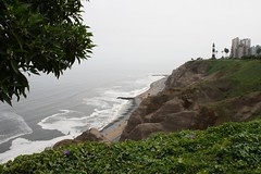 View from the malecón in Miraflores