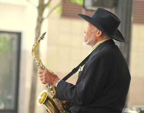 Saxophonist - Happy