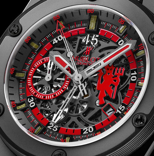 HomeHublot King Power Red Devil Watch