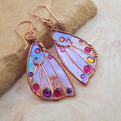 Sidhe Wings Earrings