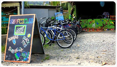 Bicycle rental Puerto Viejo Costa Rica