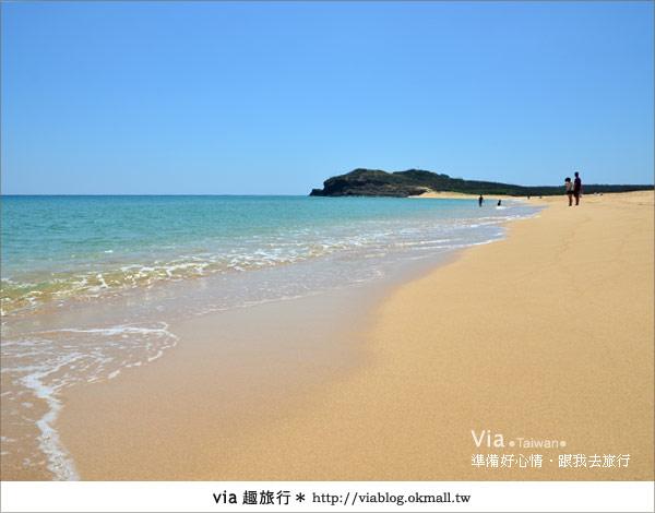 【澎湖沙灘】山水沙灘,遇到菊島的夢幻海灘!24