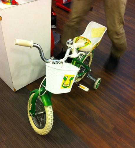 aina's new bike