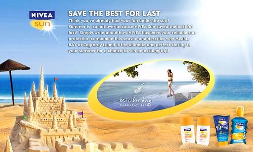NIVEA Contest - Misibis Bay