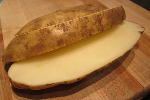 MB Post: Sliced Raw Potato