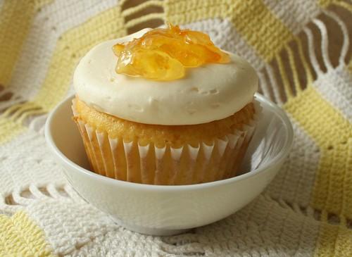 Citrus Tea Cupcakes