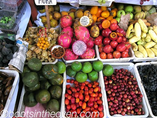 Eyecatching array of Peruvian fruits