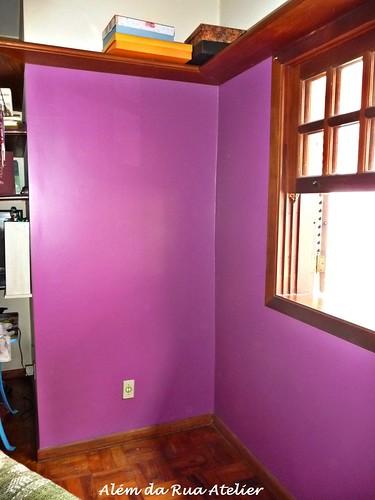 Pintura da parede do escritório - UVA