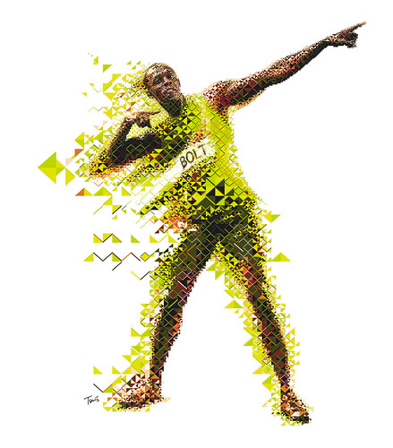 Gatorade Evoluciona: Usein Bolt 2 (Jamaican Colors) / Charis Tsevis