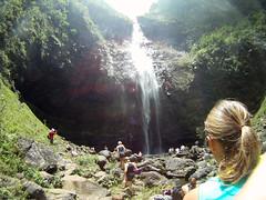 Hanakapi'ai Falls (Gretchen) Tags: vacation hawaii kauai 2011 gopro goprocamera