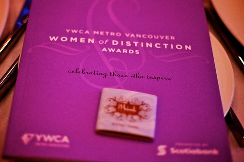 YWCA women of distinction awards 2011