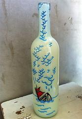 SANK TO GRIEF (billy craven) Tags: art car bottle box tag hobo moniker sanktogrief