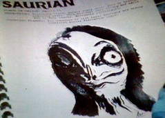 Saurian in Races of the Federation fanzine
