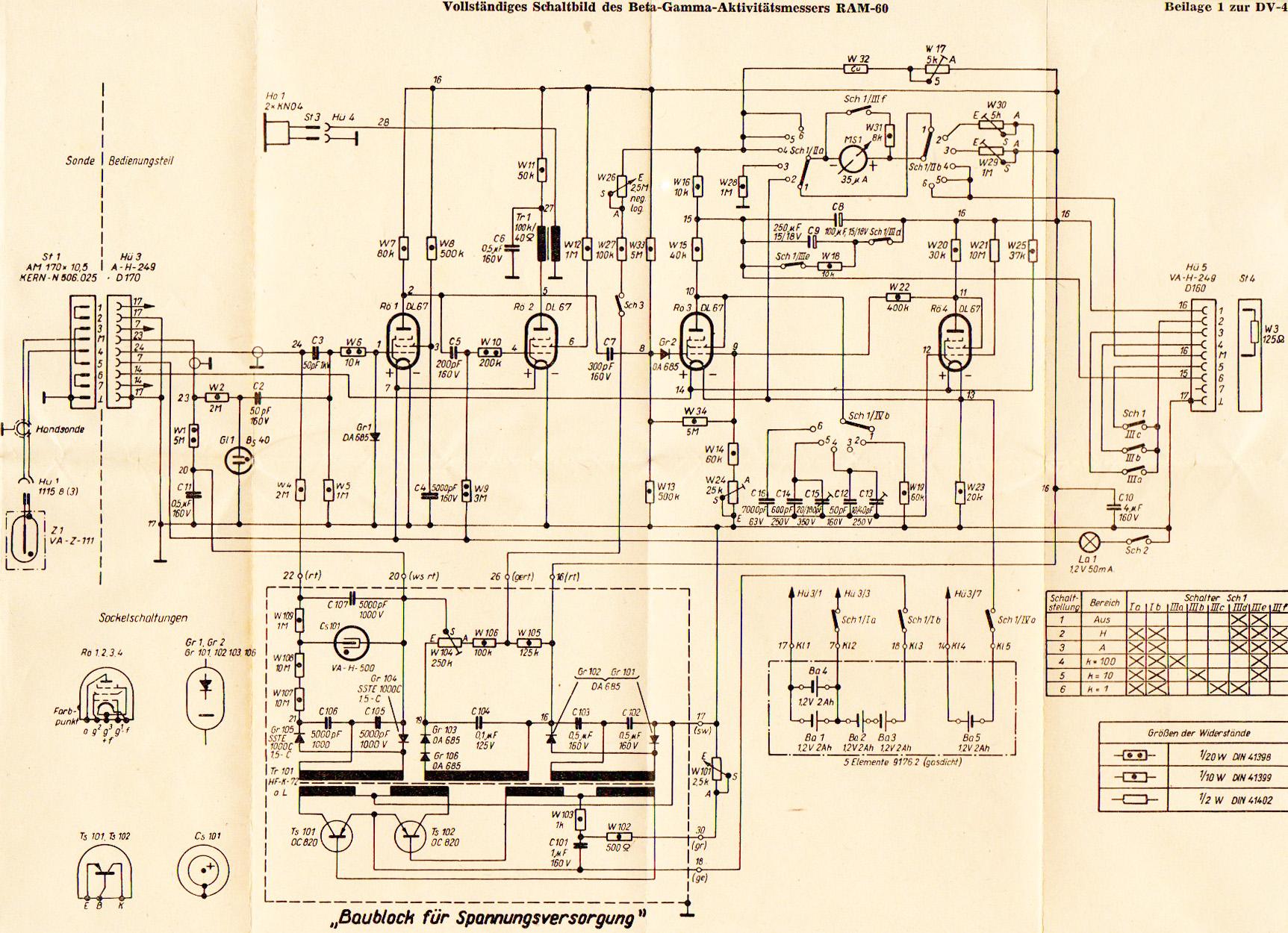 Schema Elettrico Phon : Schema elettrico ram