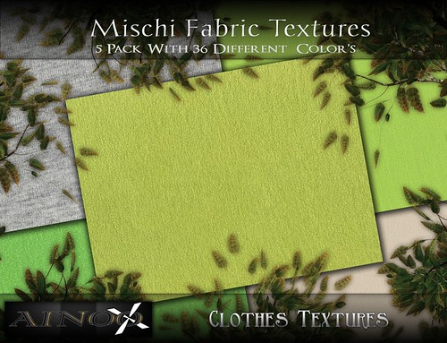 Mischi Fabric Fat Pack by Ainoo By Alexx Pelia