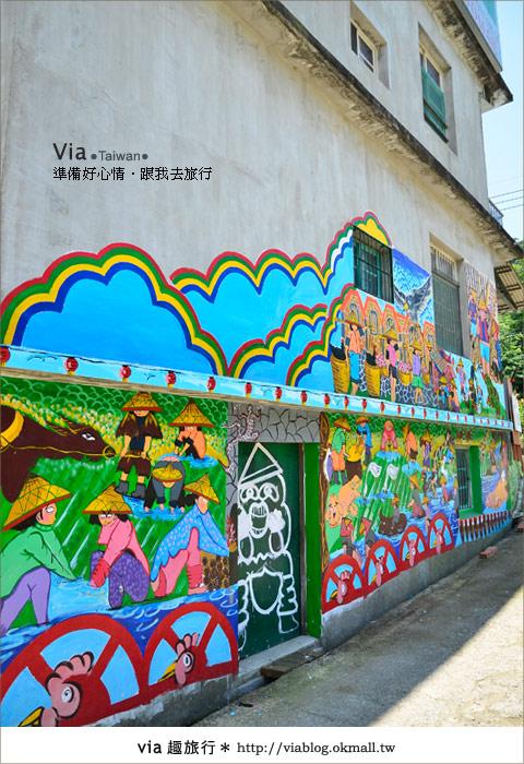 【彩繪客家村】驚豔,彩繪村!新竹竹東鎮軟橋社區尋彩趣36