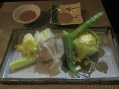 蒸し野菜@とりとやさい梁(桜台)