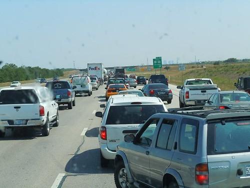 Traffic in Fort Worth