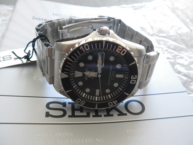 c7e69d9beda Combinei com o vendedor a melhor maneira de envio para evitar uma taxação  extra e tudo correu muito bem. SEIKO SNZF17K1 (aka Sea Urchin)