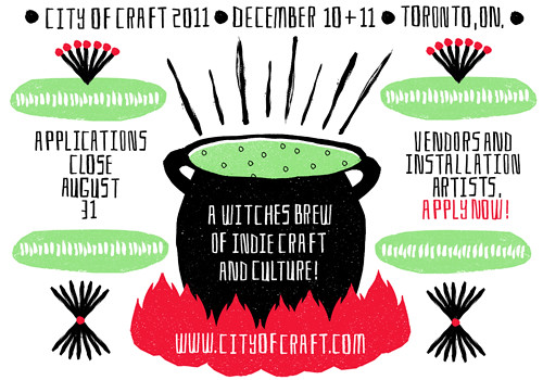 City of Craft 2011 vendor flyer