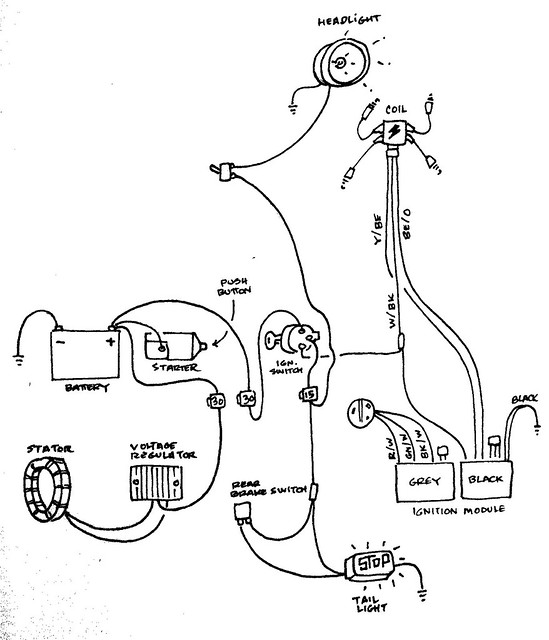 Evo Chopper Wiring Diagram