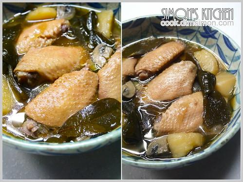 和風海帶煮雞翅09