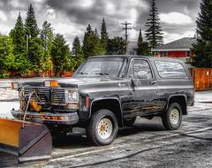 Clear_Coat_79-Q1404rt (Guyser1) Tags: truck canon streetscene powershot vehicles chevy vehicle pointandshoot blazer hdr westyellowstone plowtruck s95 k5blazer canonpowershots95