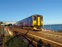 150221 & 153372 Dawlish (14) (Marky7890) Tags: gwr 150221 class150 sprinter 2t24 dawlish railway station devon train 153372 class153 supersprinter