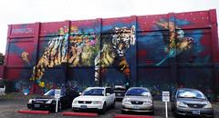 "aptART 2016 ""The Guardian"" by Ernesto Maranje (wiredforlego) Tags: graffiti streetart urbanart mural portland oregon pdx ernestomaranje aptart publicart"