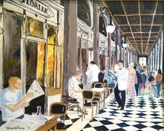 Caff Florian (Tommaso Manzi Watercolour) Tags: tommaso manzi tommasomanzi florian caff venezia venice dipinto