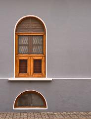 Window next to road (B Krishna Reddy) Tags: outdoor window footpath street streetphotography pondicherry frenchcolony